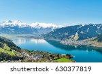 beautiful summer panorama view...   Shutterstock . vector #630377819