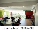 empty computer class at school | Shutterstock . vector #630396608