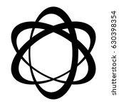 orbit logo  three elipse with a ...   Shutterstock .eps vector #630398354