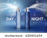 spray bottle isolated on blue... | Shutterstock .eps vector #630401654