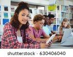 students using laptop  digital... | Shutterstock . vector #630406040