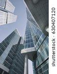 moscow city skyscrapers.... | Shutterstock . vector #630407120