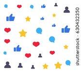 speech bubbles  like  star ...   Shutterstock .eps vector #630432350