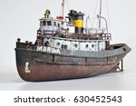 Scale Model Of Old Rusty Harbor ...