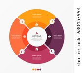 Circle Chart Infographic...