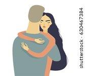 vector cute illustration. happy ... | Shutterstock .eps vector #630467384