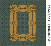 art nouveau elegant smooth...   Shutterstock .eps vector #630479918