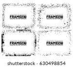grunge frame texture set  ...   Shutterstock .eps vector #630498854