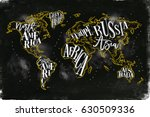 Vintage Worldmap With...