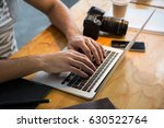 mid section of graphic designer ...   Shutterstock . vector #630522764