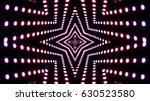 pink led lights | Shutterstock . vector #630523580