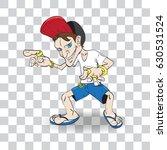 the boy joker  vector... | Shutterstock .eps vector #630531524