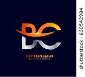 bc logo vector. initial letter... | Shutterstock .eps vector #630542984