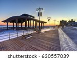 Coney Island Boardwalk With...