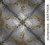 vector abstract floral wreath...   Shutterstock .eps vector #630574328