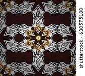 vector abstract floral wreath...   Shutterstock .eps vector #630575180