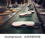 shoe sole making on conveyor in ... | Shutterstock . vector #630580448