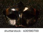 Image Of Elegant Venetian Mask...