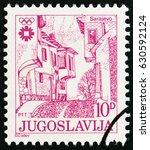 yugoslavia   circa 1983  a... | Shutterstock . vector #630592124