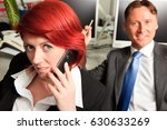 business people in their office | Shutterstock . vector #630633269