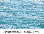deep blue stormy sea water... | Shutterstock . vector #630634793