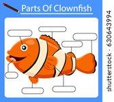 illustrator of part of fish | Shutterstock .eps vector #630643994