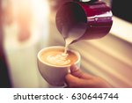 coffee shop business and... | Shutterstock . vector #630644744