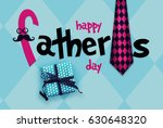 happy father s day greeting... | Shutterstock . vector #630648320