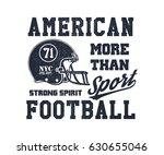 football helmet stylized vector ... | Shutterstock .eps vector #630655046