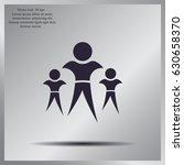 pictograph of success team | Shutterstock .eps vector #630658370
