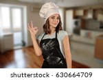 woman chef | Shutterstock . vector #630664709