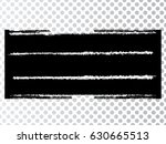 grunge paint stripe . vector... | Shutterstock .eps vector #630665513