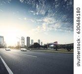 asphalt pavement urban road at... | Shutterstock . vector #630686180