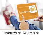 burger fast food icon graphic | Shutterstock . vector #630690170