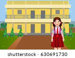 an indian rural government... | Shutterstock .eps vector #630691730