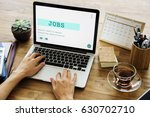 job career hiring recruitment... | Shutterstock . vector #630702710