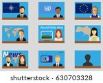 infographics elements with... | Shutterstock .eps vector #630703328