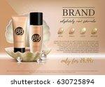 premium vip cosmetic ads ... | Shutterstock .eps vector #630725894