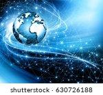 best internet concept of global ... | Shutterstock . vector #630726188