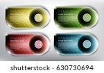 abstract vector banners set of...   Shutterstock .eps vector #630730694