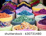 multicolored dried flowers ... | Shutterstock . vector #630731480