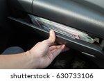 glove compartment. | Shutterstock . vector #630733106