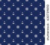 vector sea and nautical... | Shutterstock .eps vector #630739850