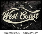 vintage surfing graphics and... | Shutterstock .eps vector #630739859