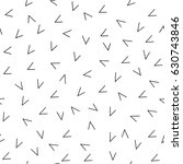 abstract tick seamless pattern. ... | Shutterstock .eps vector #630743846