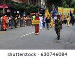 Small photo of BRISBANE, AUSTRALIA - APRIL 25, 2017: Vietnamese servicemen and veterans march in the ANZAC parade.