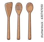 fork  spoon illustration ... | Shutterstock .eps vector #630747050