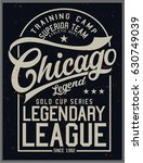 vintage varsity graphics and... | Shutterstock .eps vector #630749039