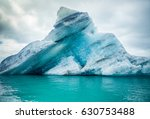 Icebergs Floating.  Ices And...