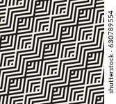 abstract zigzag parallel... | Shutterstock .eps vector #630789554